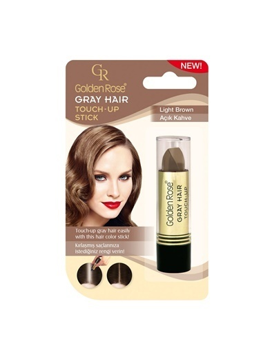 Golden Rose Grey Hair (Light Brown) No :06 Renkli